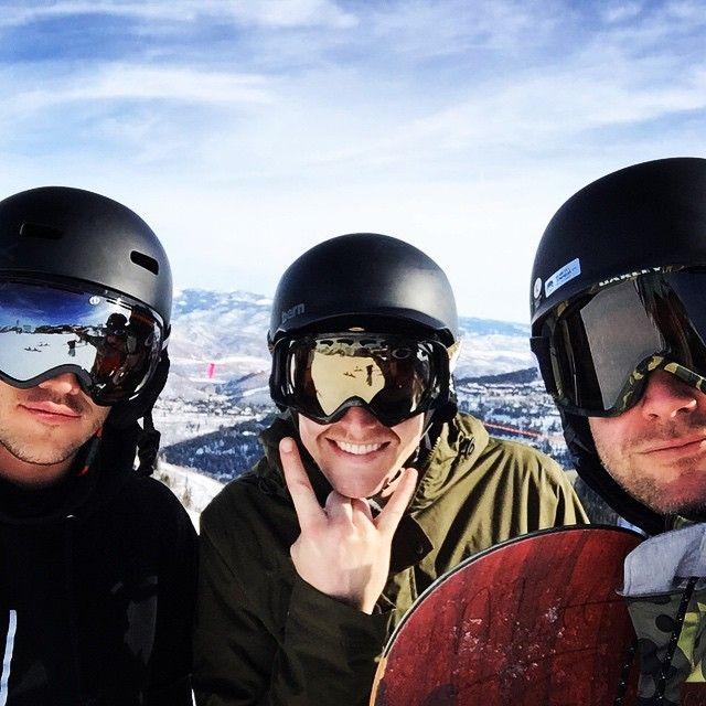 "(Michael Trevino) Up here with these jokers.. @zach_roerig ernestoriley #SLC #Helmets #Staches (Zach Roerig & Matthew ""Matt"" Davis)"