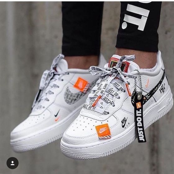 the best attitude d8a23 15878 Nike Air Force 1 Low Just Do It 18SG   got style   Pinterest   Shoes, Nike  and Sneaker boots