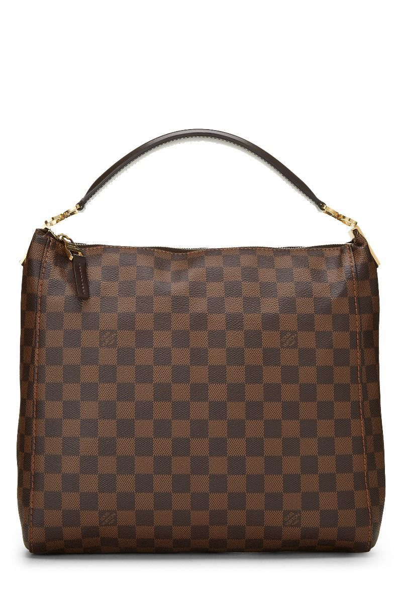 Pre Owned Louis Vuitton Damier Ebene Portobello Pm Modesens Pre Owned Louis Vuitton Louis Vuitton Damier Louis Vuitton