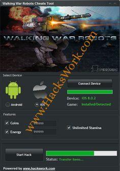 Walking War Robots Cheats Tool (Android/iOS) | www HacksWork com
