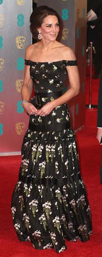 12 Feb 2017 - Duchess of Cambridge attends BAFTA awards ceremony. Click to read more