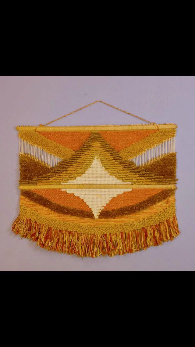 Don Freedman Fiber Art Weaving Tapestry Tapestry