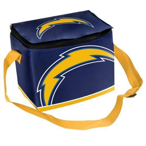 San Diego Chargers Backpack: NFL San Diego Chargers Big Logo Team Lunch Bag By Forever
