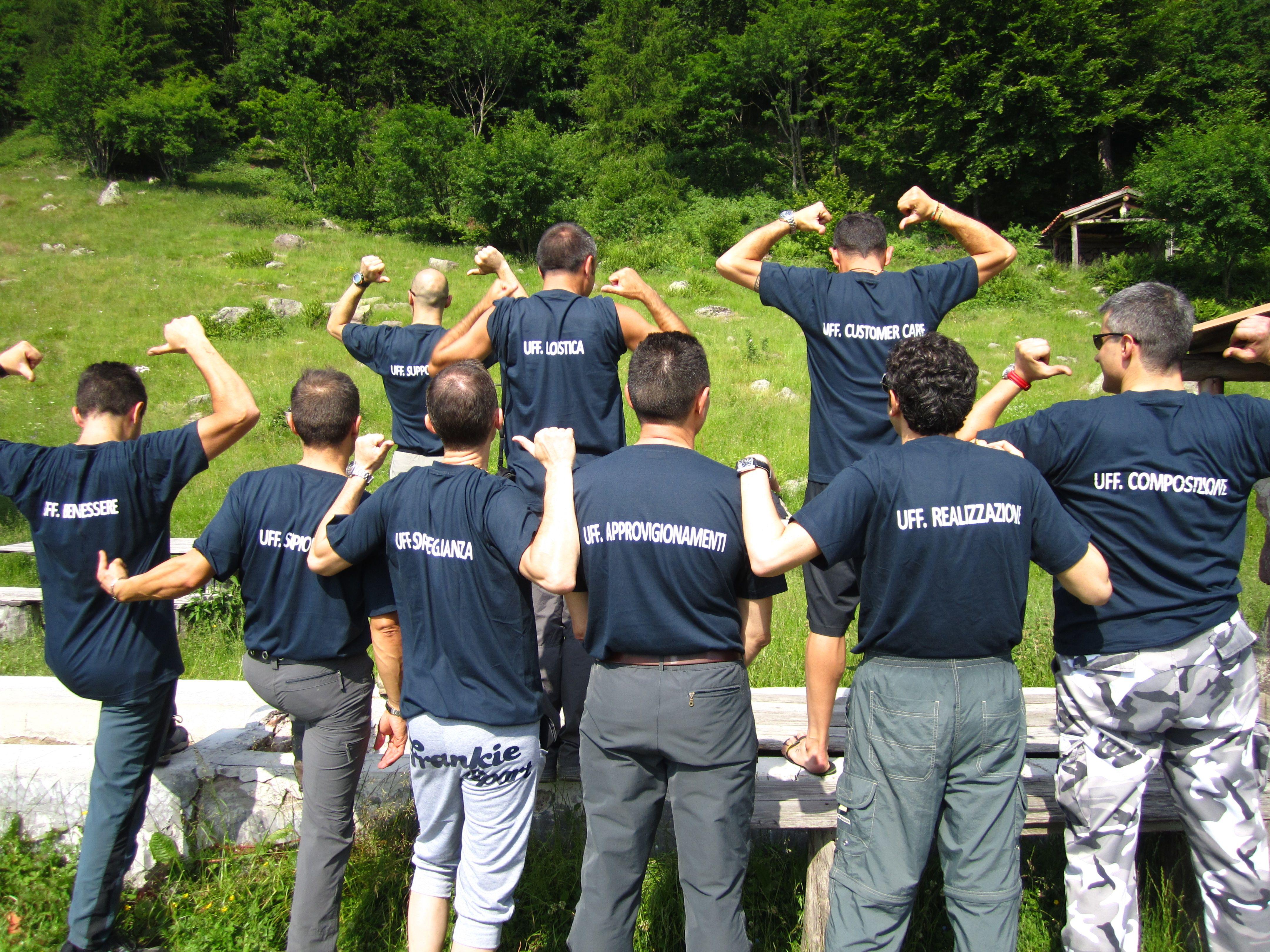 30 jun 2012 - REDAELLI Tecna - TEAMBUILDING with ALTEA - Capanna Remedio (1446 Mt.), prealpi bresciane