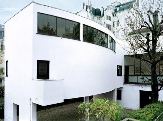 La maison La Roche par Le Corbusier Home designs and Architecture - peinture de facade maison