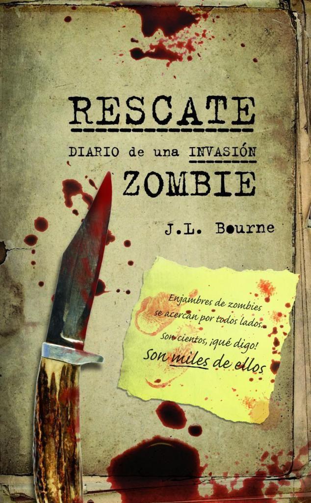 Diario De Una Invasión Zombie Rescate 3 Books Book Cover Things I Want