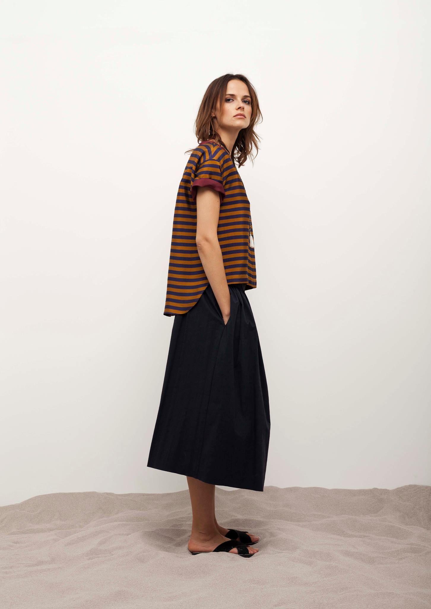Maxi skirt. Pomandere