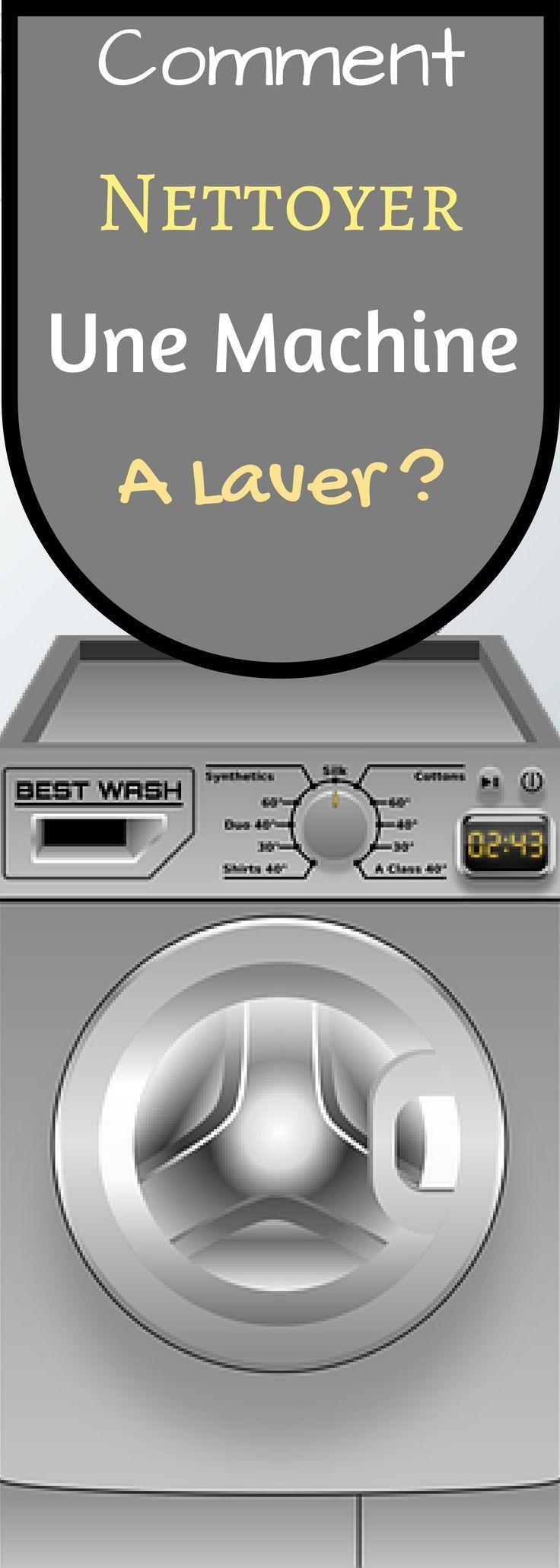 comment nettoyer une machine laver astuces pour les. Black Bedroom Furniture Sets. Home Design Ideas