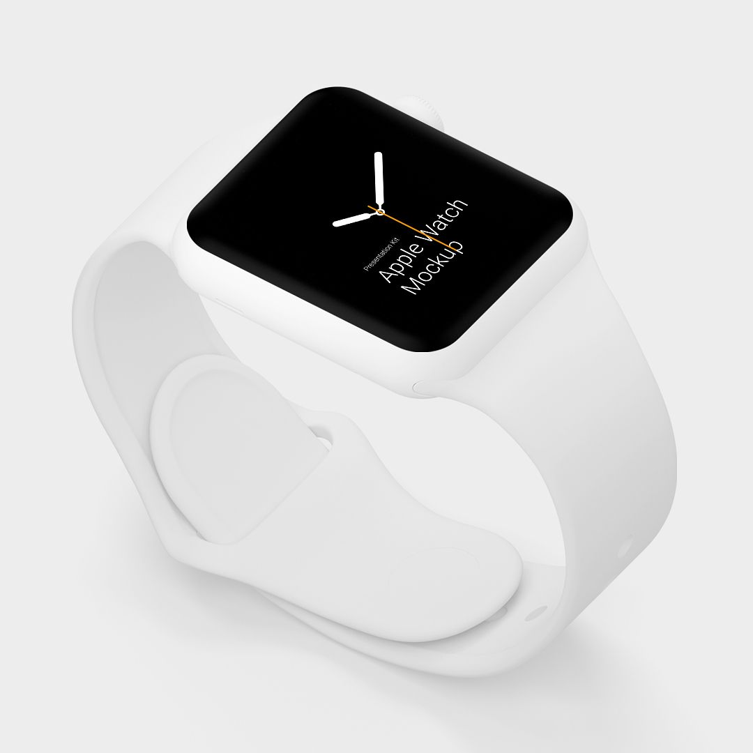 Free Apple Watch Mockup 6000 X 4500 Px High Quality Renders For Sketch And Photoshop Changeable Background Colo Apple Watch Free Apple Watch Apple