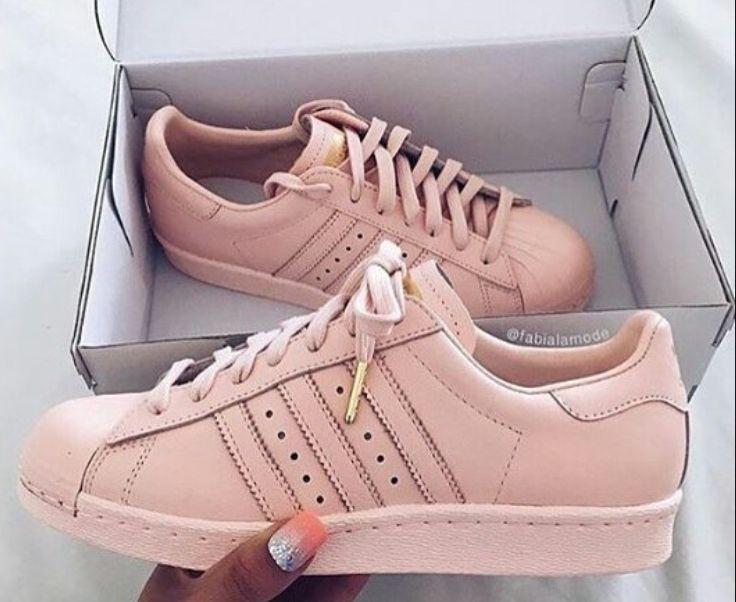 adidas blush pink superstar