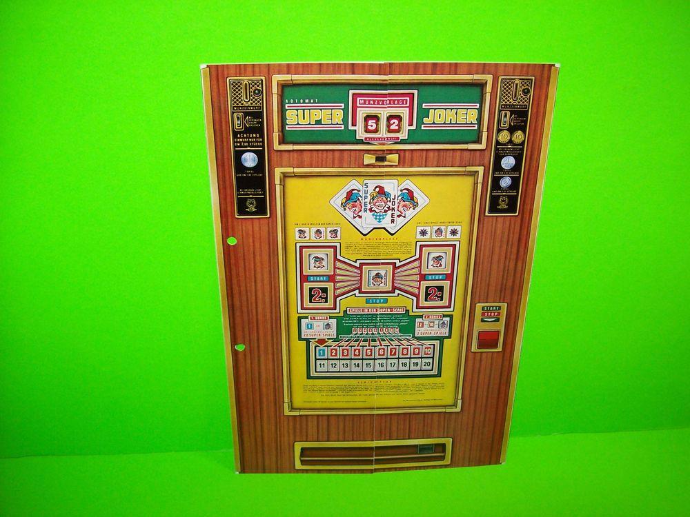 Vintage german slot machine prime racing slot car products