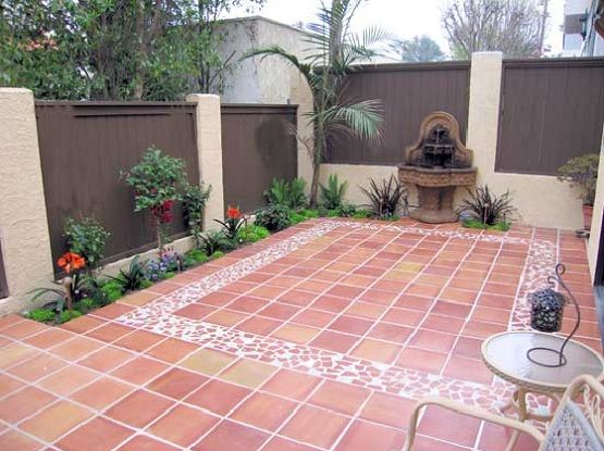 Outdoor Tile For Patio Creates Well Structured Outdoor Patio