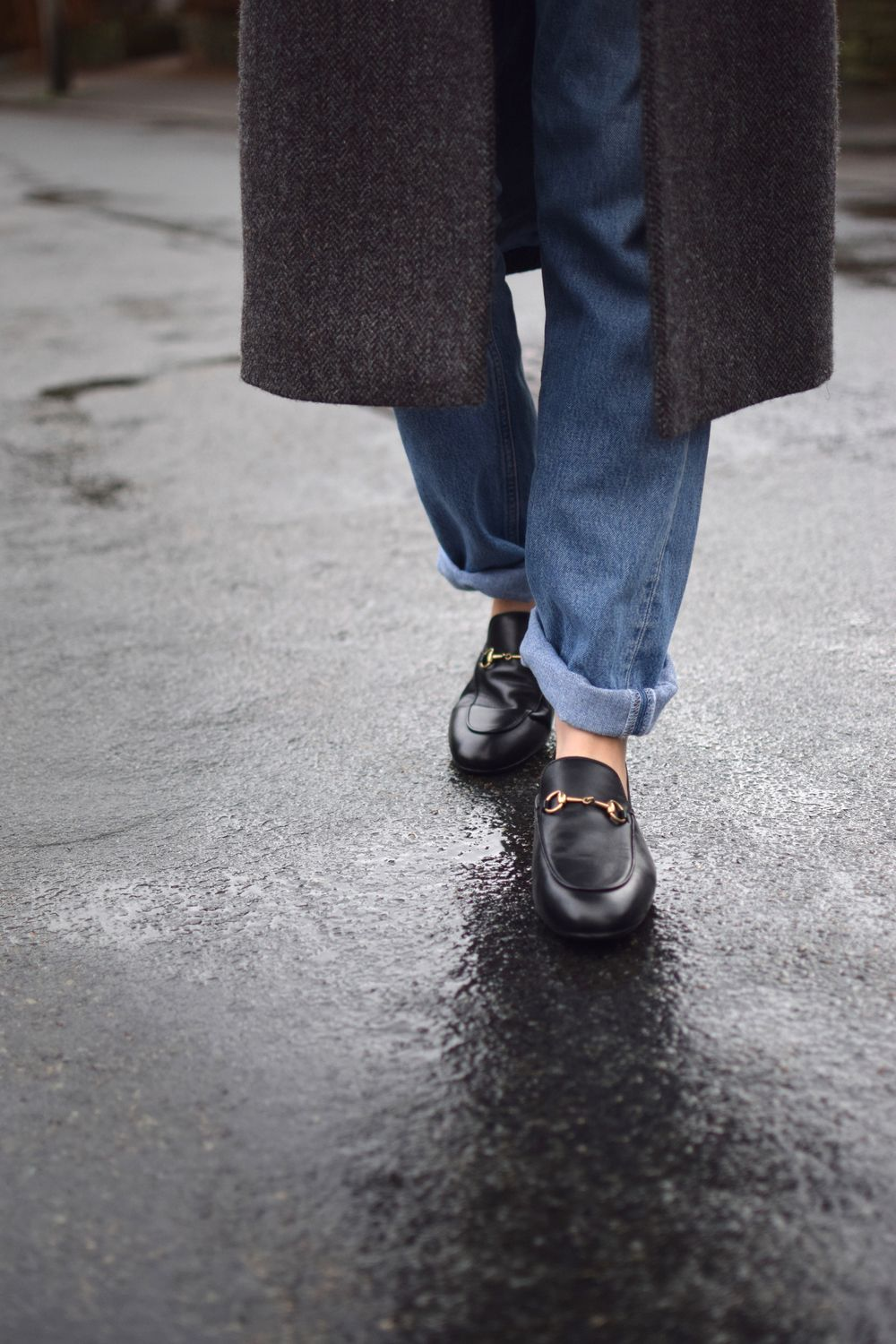 Gucci slipper, Gucci loafers outfit