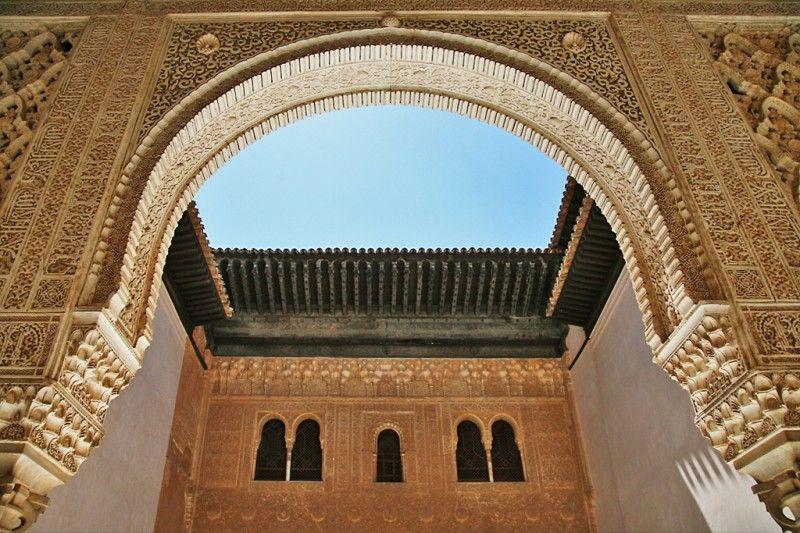 facade of comares