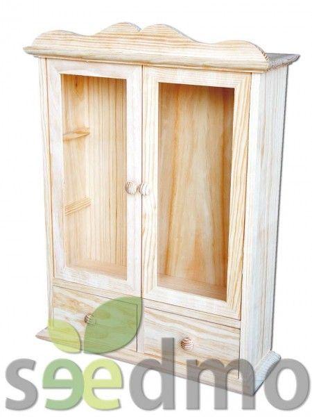 VITRINA CON CAJONES (TIENE CRISTALES) #lowcost #decoracion 39,61€  Tu tienda Online.