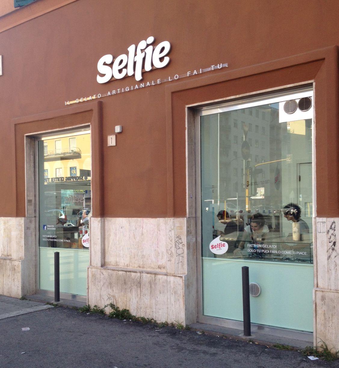 Selfie il gelato artigianale lo fai tu rome photo by