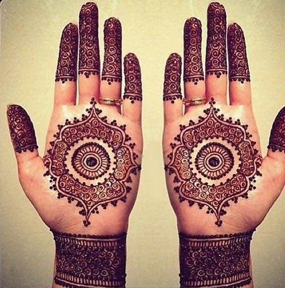 Round Mehndi Patterns : Round mehndi designs for hands henna ideas pinterest