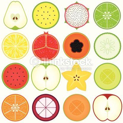 fruit circles!