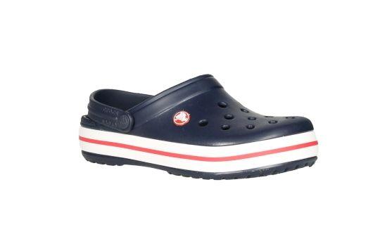 nuevo estilo 09c15 df319 Crocs zueco de goma azul con banda blanca | Shoes | Pinterest