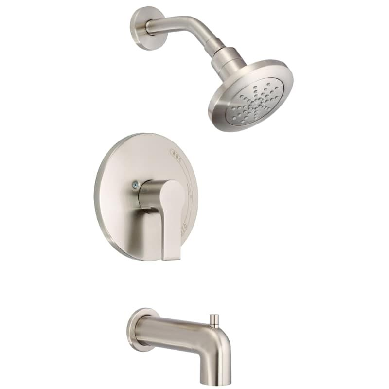 Danze D510087tc South Shore 1 75 Gpm Single Handle Tub And Shower