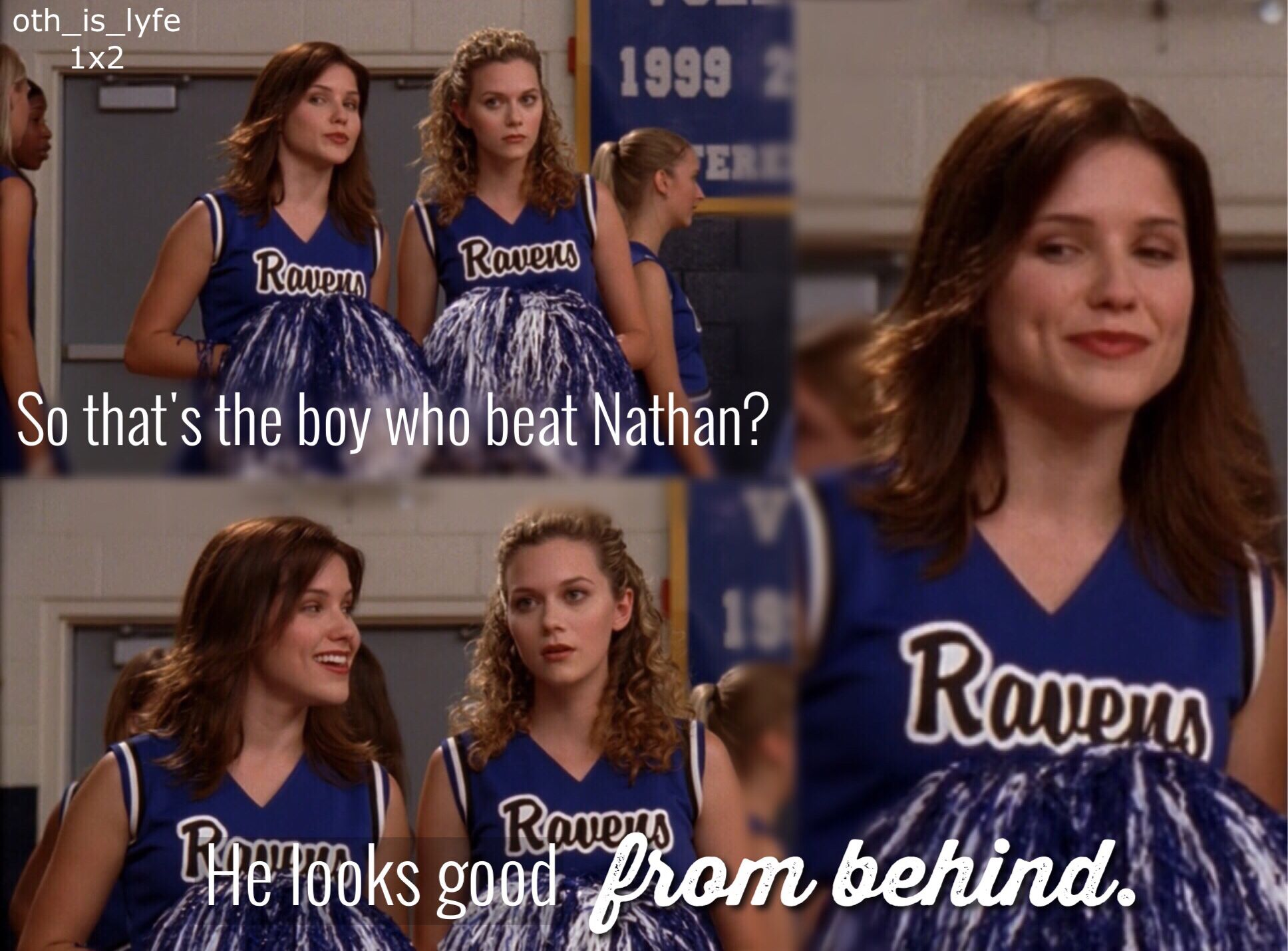 Brooke's first appearance and the first thing she ever said