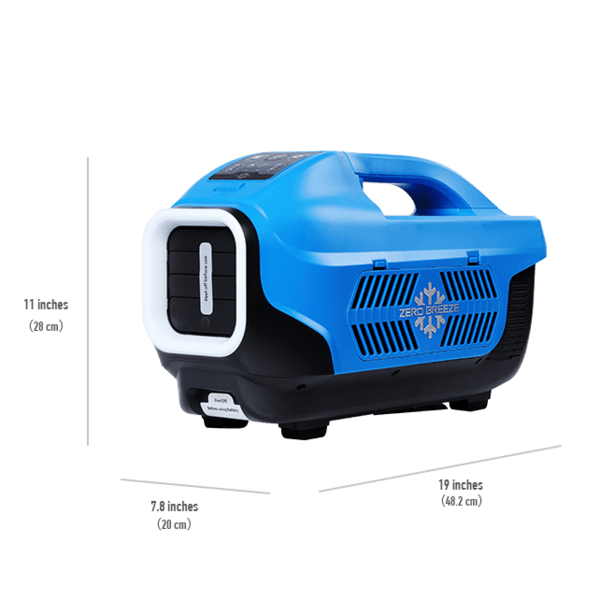Zero Breeze Air Conditioner Portable Single Unit