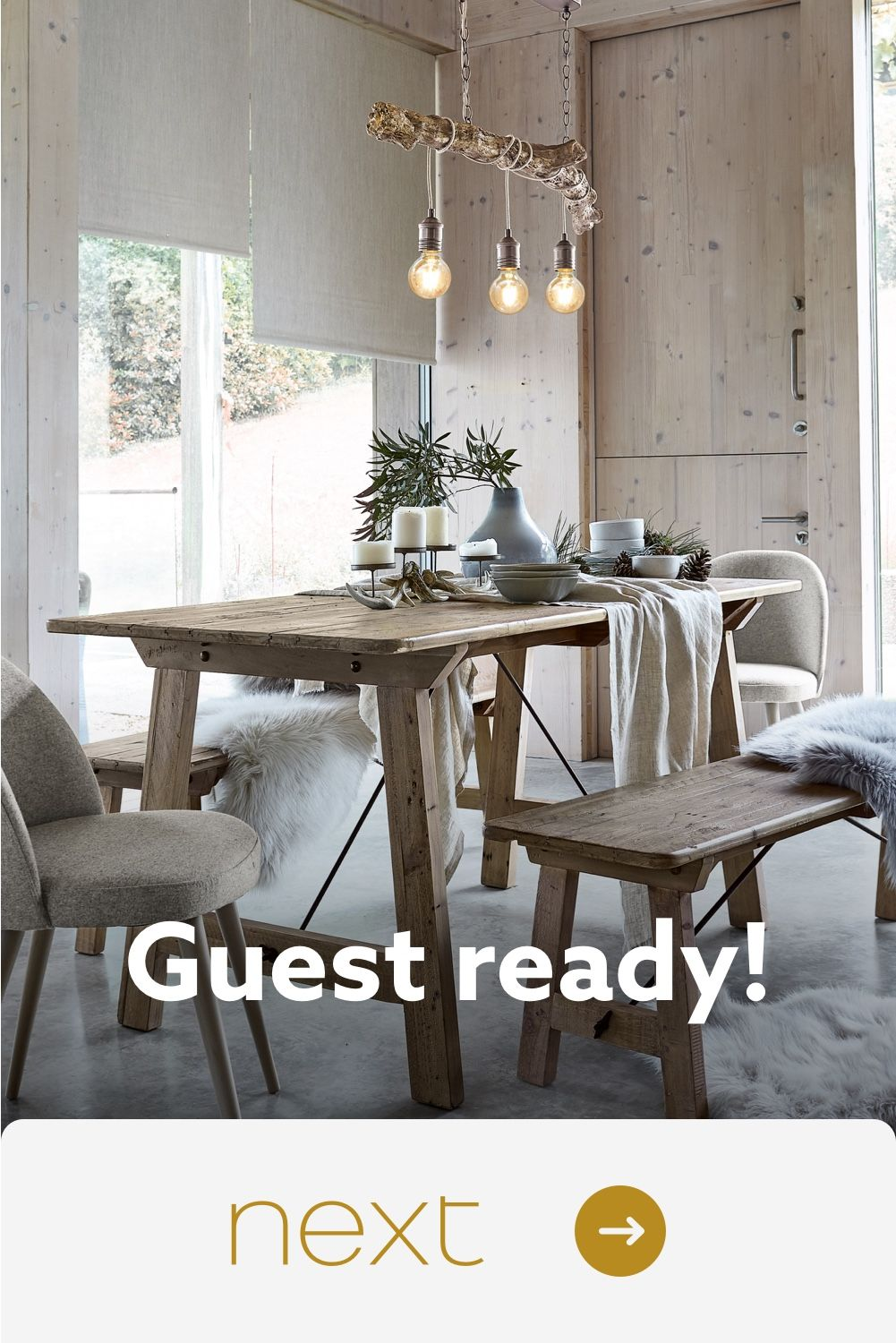Next Dine in style with everything you need at Next