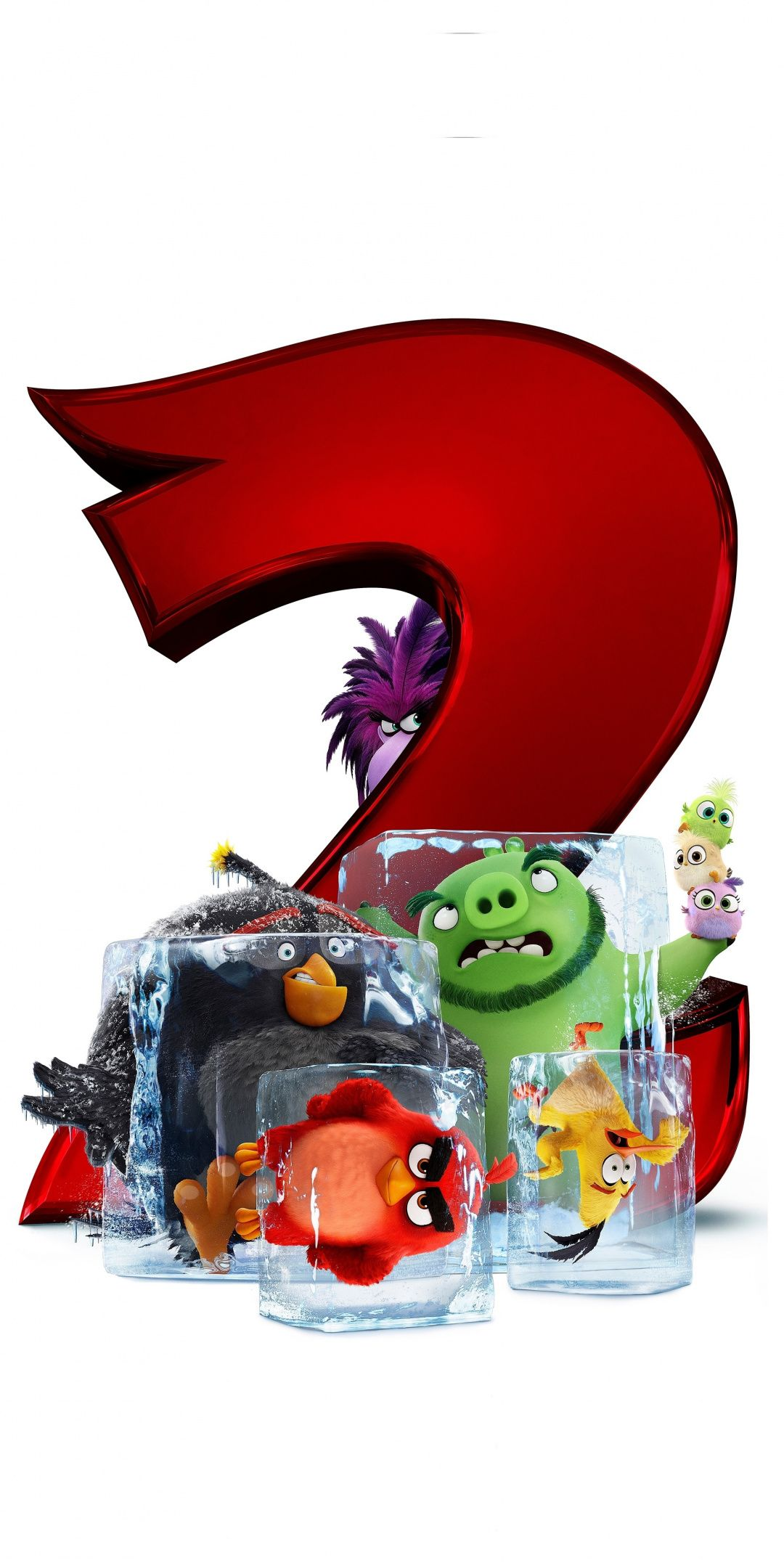 The Angry Birds Movie 2, 2019, 1080x2160 wallpaper