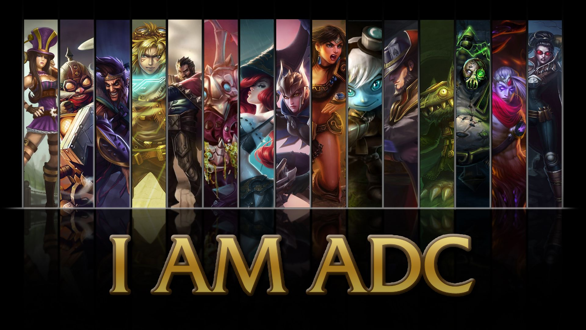 League Of Legends Adc Wallpaper In 2019 League Of Legends