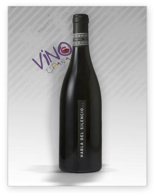 Habla Del Silencio D O Vt Extremadura Elaborado Con 50 Syrah 30 Cabernet Sauvignon Y 20 De Tempranillo Produciendo Ed Vino Tinto Vino Botellas De Vino