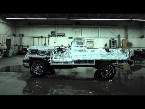 Vidéo de la fonte du camion de glace Canadian Tire