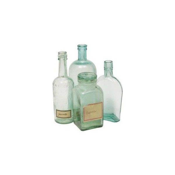 Cool Creative Ideas To Do With Old Bottles Liked On Polyvore