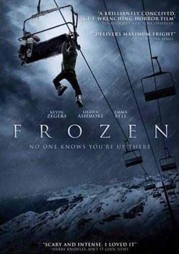 Details About Frozen New Dvd With Images Survival Movie Scary