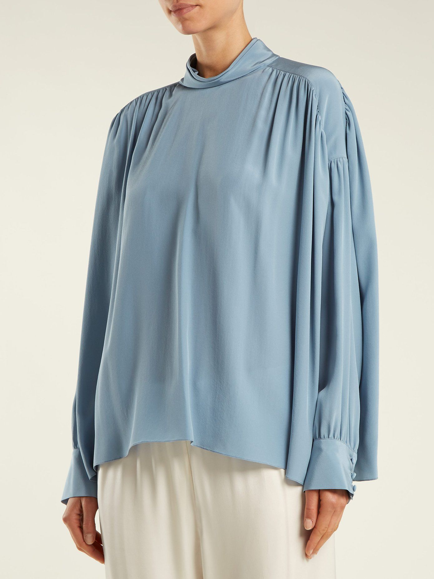 da573d77bd9a9 Silk Crepe · The Row · https   www.matchesfashion.com intl products The-