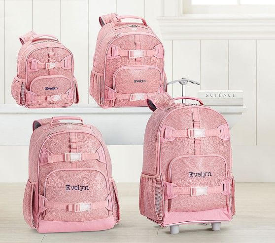 Mackenzie Pink Glitter Backpacks Backpacks School Bags