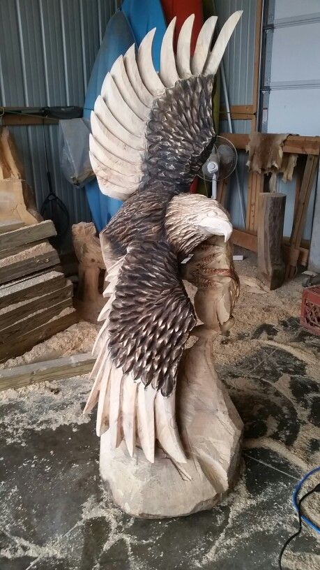 Gettingthere chainsaw carvings pinterest wood