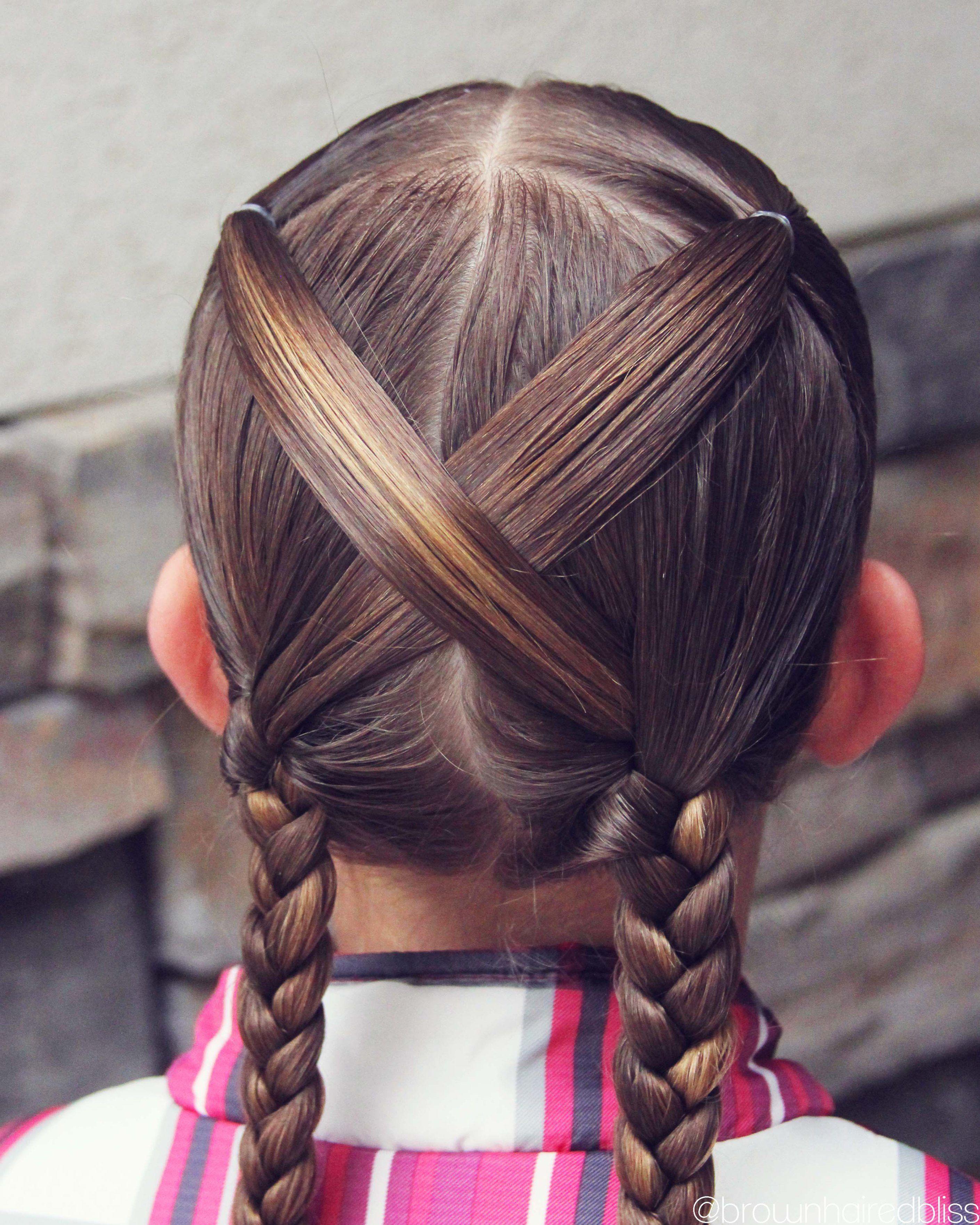 Leah easy hair braids for children pinterest easy