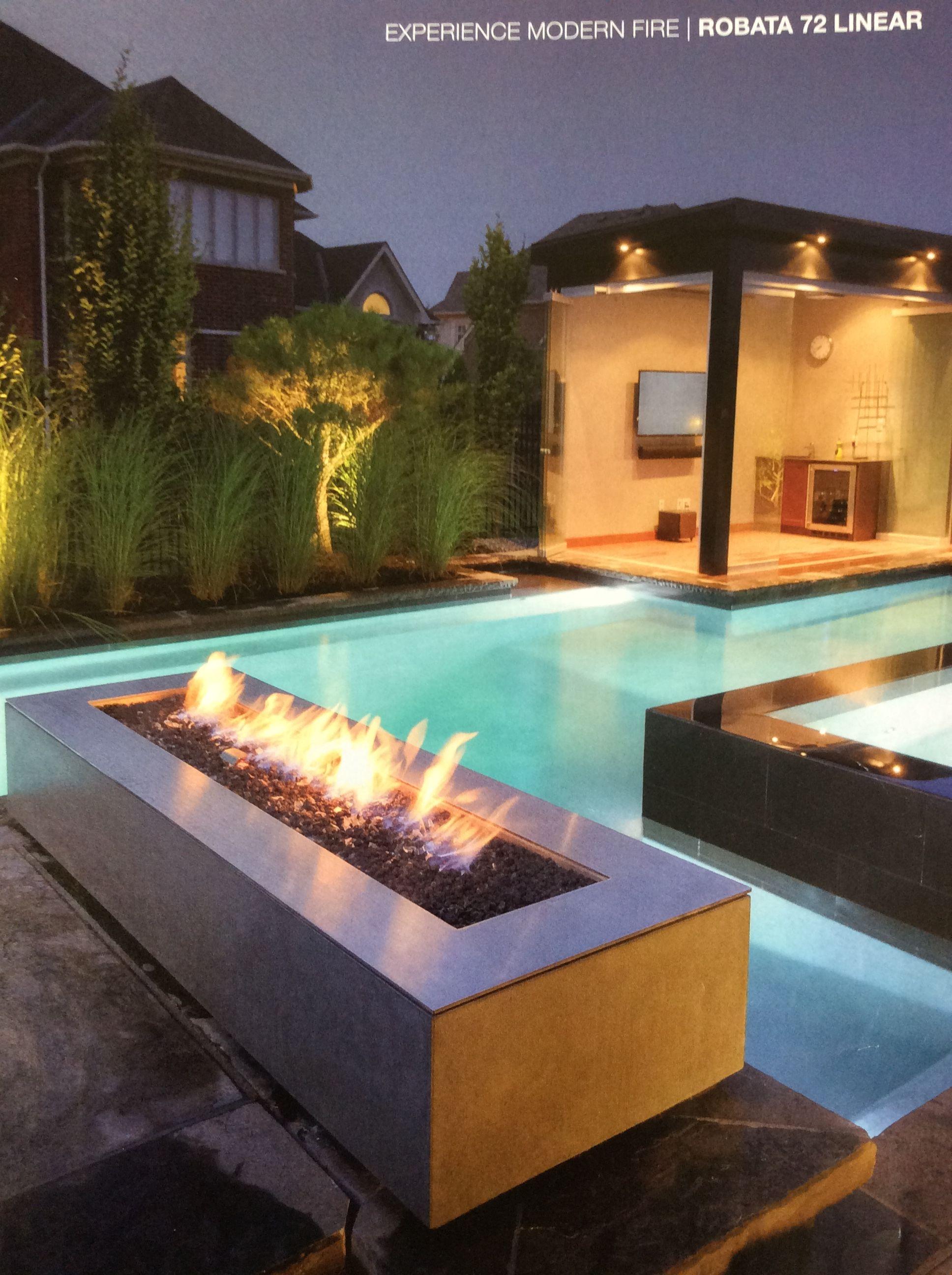 Pin By Tammi Meyer On Decks Modern Fire Pit Fire Pit Decor