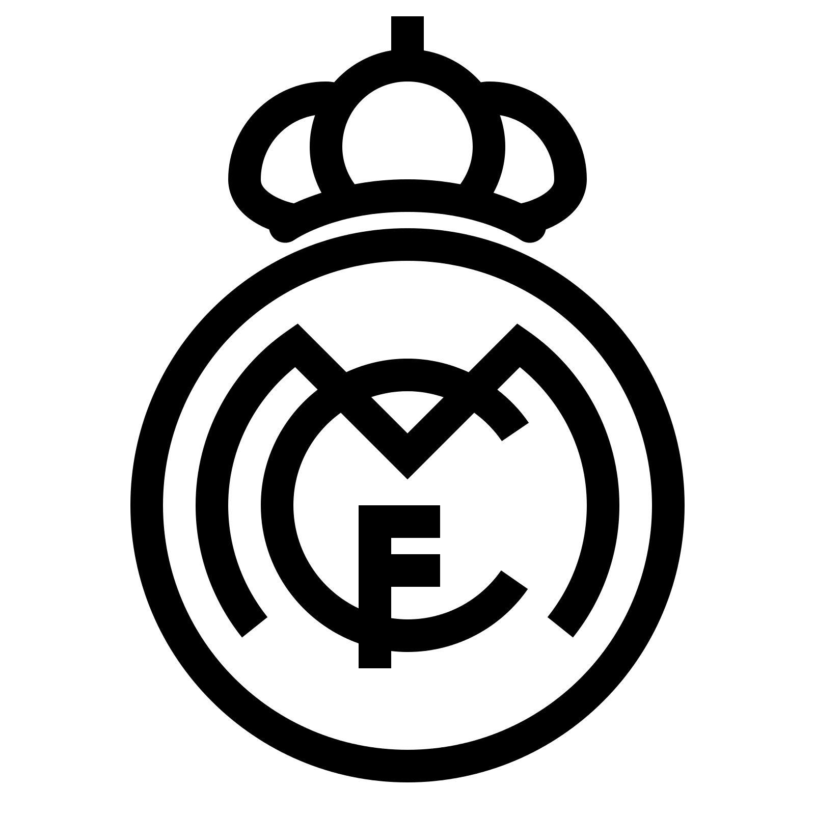 Real Madrid Symbol Real Madrid Logo Real Madrid Madrid