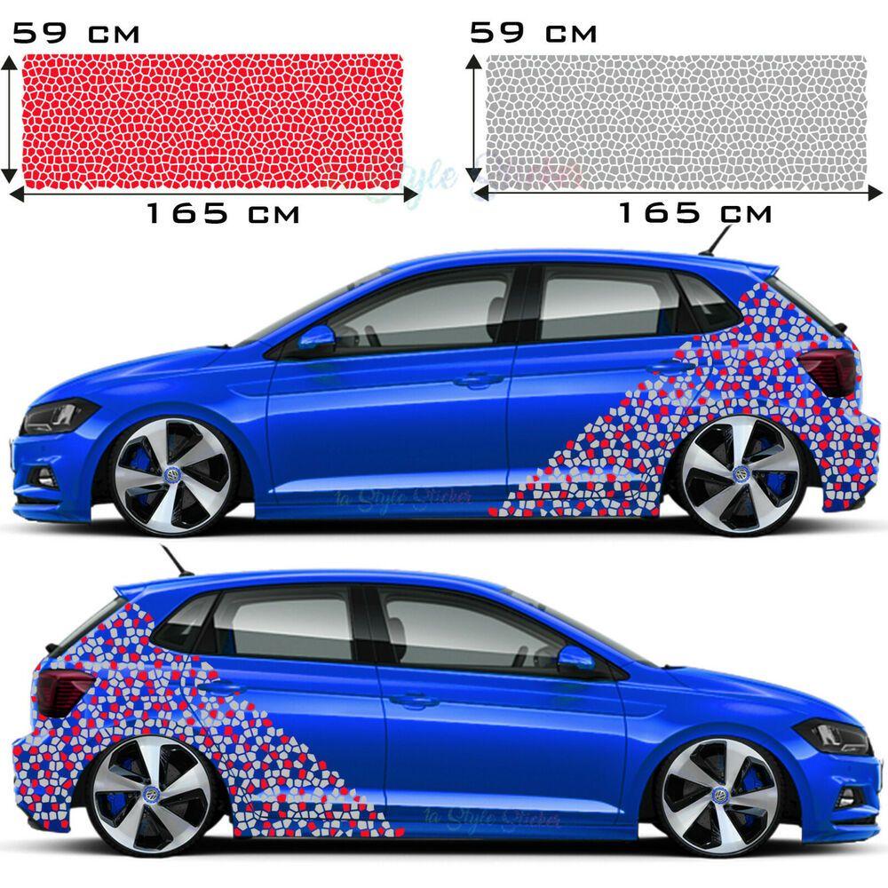 Mosaik Autoaufkleber Tuning Sticker Car Tattoo Muster Auto Seitenaufkleber S42 Immagini Preferiresti