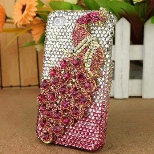 Mobile lover...catch it now .. Pink peacock, Phone
