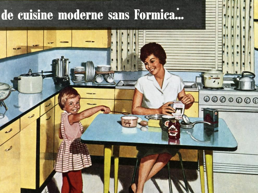 Fabuleux L'Amour formica - ©REAL productions | Cuisine Formica | Pinterest  MJ11
