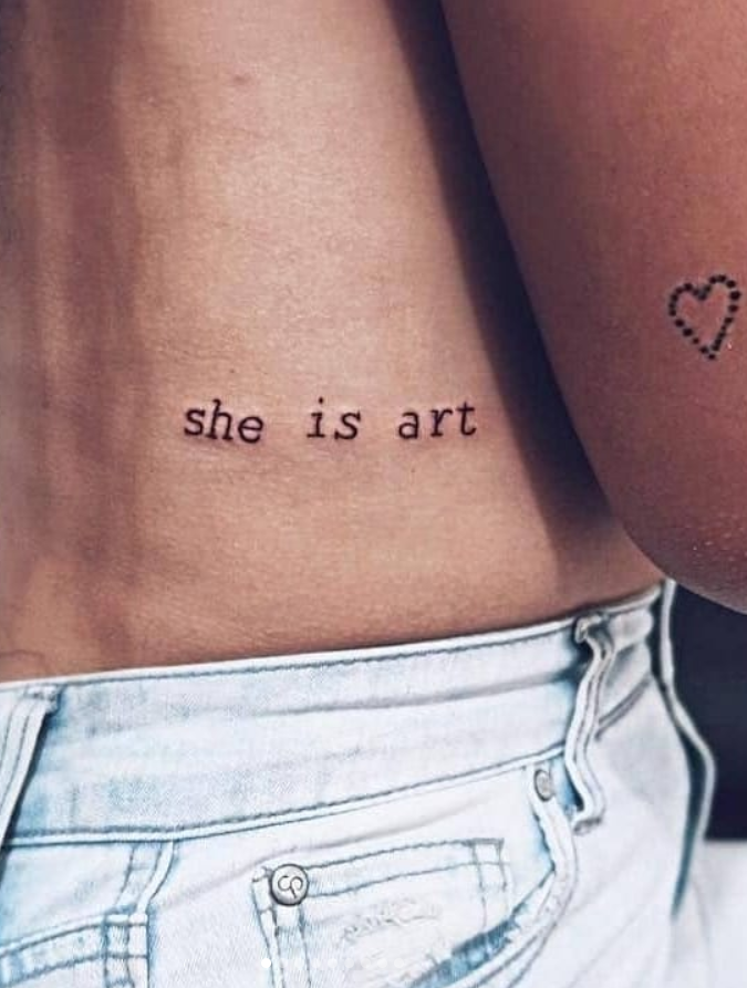 68 Small Meaningful Words And Quotes Tattoo Ideas To Look Unique