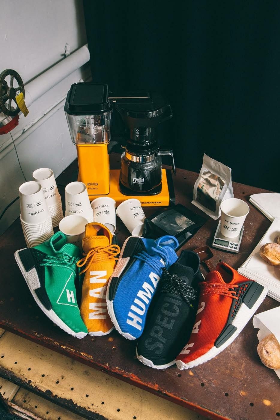 NEW Adidas NMD Human Race HU PW Pharrell Williams Core Black