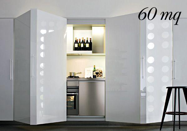 arredare cucina e soggiorno piccoli: mobili convenienza a ragusa ... - Cucina Piccoli Spazi