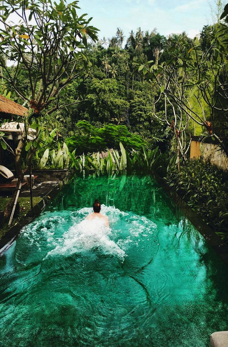 Take a dip at mandapa ritz carlton reserve in ubud bali for Luxury places to stay in bali