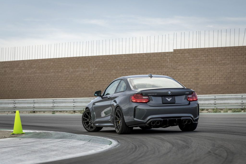 Time to drive with the new Vorsteiner BMW M2 VRS Aero and Wheels! » MotoringExposure