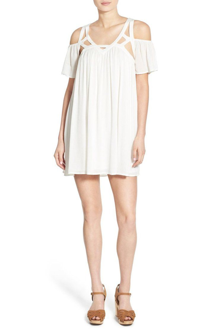 36 Affordable White Dresses So Darn Cute You Ll Have To Double Check The Price Tags Trapeze Dress Affordable White Dresses Trending Dresses [ 1116 x 728 Pixel ]