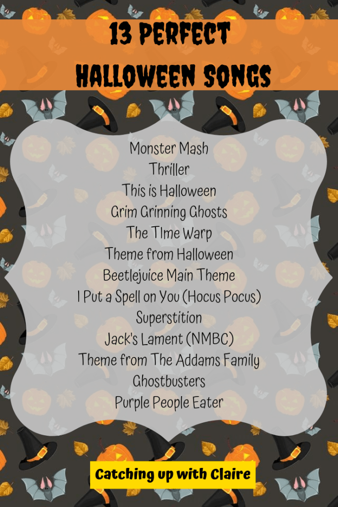 13 Songs For Your Halloween Playlist Halloween songs