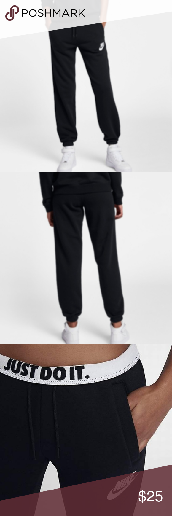 best sneakers 8e0b1 ea3f1 Nike Sportswear Rally Womens Pants Excellent condition. No flaws. Runs big  fits a medium. Color is a little bit faded not noticeable at all.